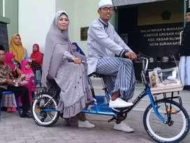 Sepeda gandeng tandem