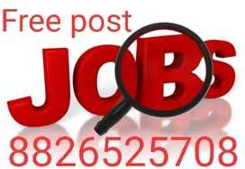 Urgent Hiring For Fresher Candidate in Vishal mega Mart shopping mall