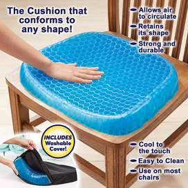 Egg Sitter Seat Cushion, Non-Slip Cover, Breathable Honeycomb Design
