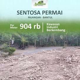 12 Muadz Sentosa Permai Tanah Kavling Tidak Sampai 100 Juta di Bantul