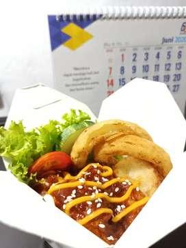 Nasi Ayam Saus Barbeque