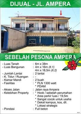 Ruko Ampera Pontianak Kalimantan Barat