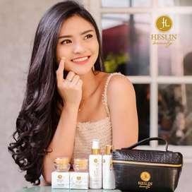 HESLIN BEAUTY ORIGINAL Paket Skincare Unlimitlife Surabaya