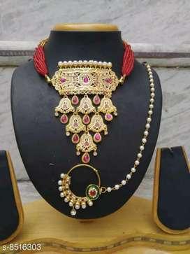 Elite beautiful jewellery set