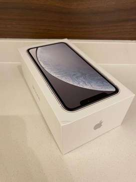 GET iPhone XR (128 GB) - (Product) WHITE (Includes EarPods, Power Adap