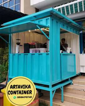 booth semi container,booth coffe shop,booth usaha,booth custom
