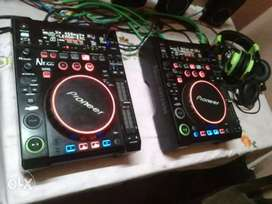 Nx audio cdj700 1 pair dj console