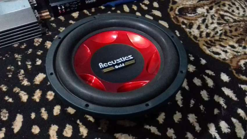 Bekas Berkualitas!! Subwoofer 12in ACOUSTIC Gold Dobel Magnet Super 0