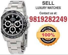 Rolex Daytona We buy On Spot Cash Hublot Panerai Patek Vacheron