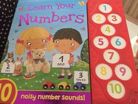 Buku belajar angka