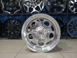 Velg Racing HSR WHEEL Ring 20x9 H6(139, 7) Silver Polish