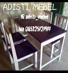 Meja kursi makan minimalist
