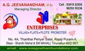 Thiruvallur New prososal medical Clg Near Plots Rate 490 for sqft