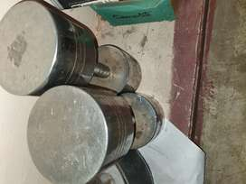 Dumbell 25 kg steel
