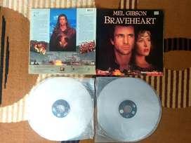 Laserdisc film Braveheart 2 Lp
