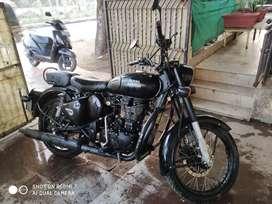 Classic 500 matt black,