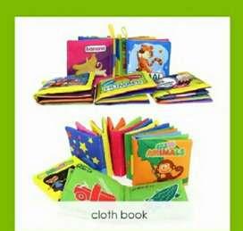 Soft Cloth Book Buku Bantal Kain Mainan Edukasi Anak