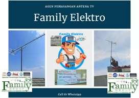 Antena TV Lokal UHF Digital hd Paket hd antene Berikut Pasang Antena