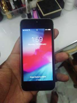I phone 5s 16 gb only @7000