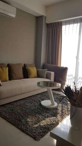 Apartemen 2 BR Trivium Terrace Lippo Cikarang Lake View Full Furnished