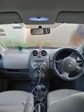 Nissan Micra car 2012