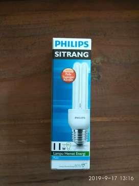 Promo sampai 31 desember 2019 Lampu sitrang 11w Philips