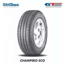 Ban GT radial Champiro eco ukuran 185/70 Ring14 bisa buat Xenia Avanza
