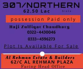 307/Northern block plot for sale in bahria orchard
