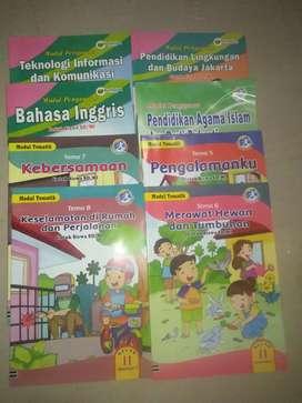 Buku paket tematik, buku UN dan LKS
