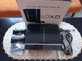 PS3 PS 3 Playstation 3 320 GB Fullset Fat Muluz Tinggal Main