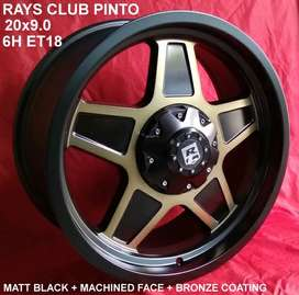 velg racing rays Club Pinto ring 20 Pajero Fortuner