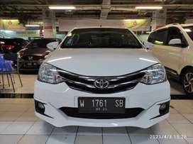 Toyota etios valco putih manual 1.2 2015 tdp 20 jutaan surabaya