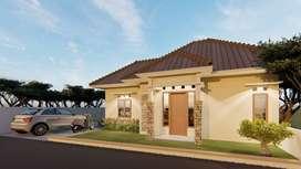 Rp 345 jt sudah dapat rumah Type 50 + Tanah 84 m² di Bangunjiwo Bantul