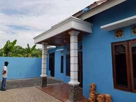 Rumah dikontrakan tahunan (keluarga). 20 juta/thn