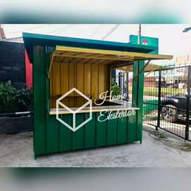 PROMO AKHIR TAHUN - CONTAINER BOOTH - CONTAINER FRENCHISE - BOOTH