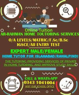 Best Teachers Available at Your door steps (islamabad)