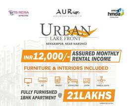 1 BHK FULLY FURNISHED STUDIO APARTMENTS FOR SALE