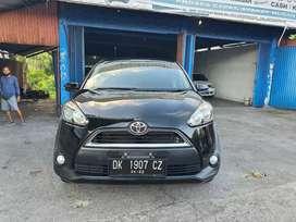 Toyota Sienta 1,5 G Manual 2017 hitam aslibali