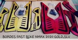 Bordes karpet new nmax 2020 fast bike full cnc barang baru