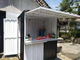Booth Container Murah Seperti Baru