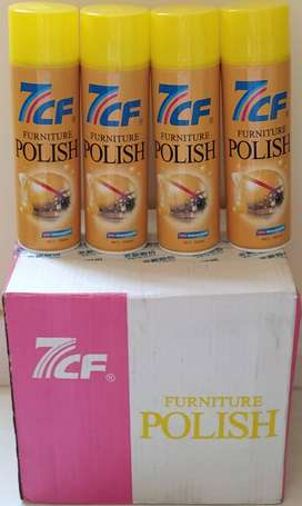 Brand New 7CF Furniture Polish on Wholesale rates of Rs.200/- each: