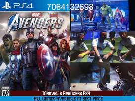 PS4 GAMES  Marvel's Avengers Ps4 All games available All most all game
