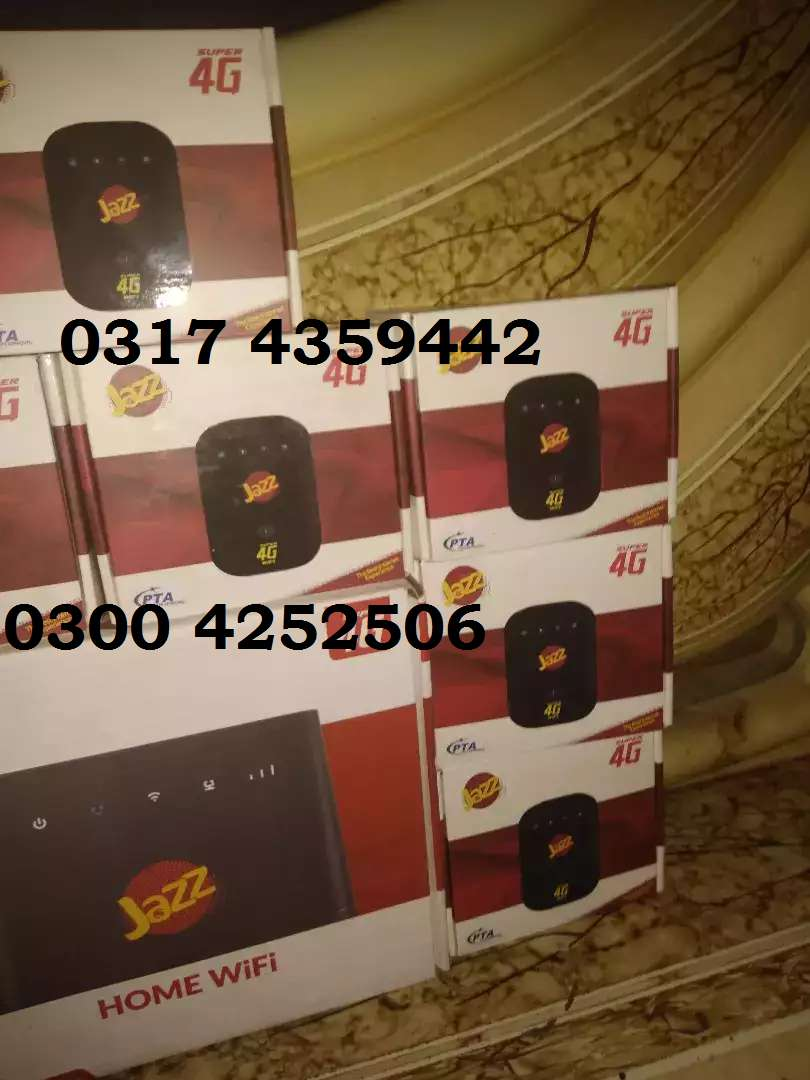 Mobilink 4G USB 2180 & cloud chargeable 2480 box pack 0