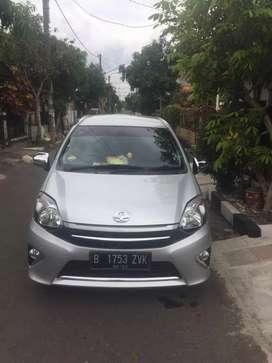 Toyota Agya G AT 2016 Silver