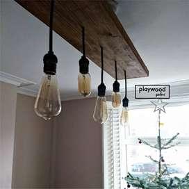 Lampu Filamen 4watt untuk Dekor Interior Ruangan Indoor dan Outdoor