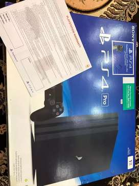 Ps 4 Pro 1TB Play Station For Sale