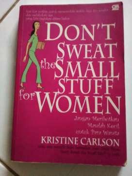 Judul buku Jangan Meributkan Masalah Kecil untuk para Wanita