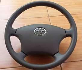 Setir/Stir/Steering Wheel ORIGINAL Bekas Toyota Avanza 2010 Warna Abu2