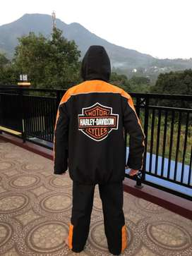 Jas hujan include jaket riding Harley Davidson bahan Premium esklusif