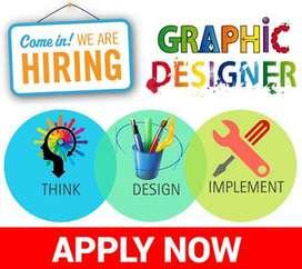 Need Full Time Graphic Designer in Bawana Delhi-39